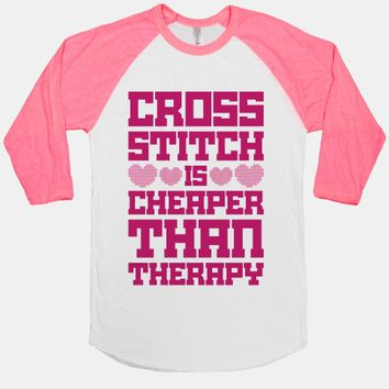 Cross Stitch Is Cheaper Than Therapy