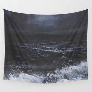Lost in the sea Wall Tapestry by HappyMelvin | Society6