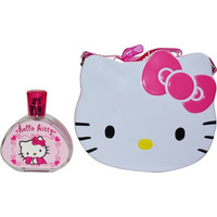 HELLO KITTY by Sanrio Co. EDT SPRAY 3.3 OZ & LUNCH BOX