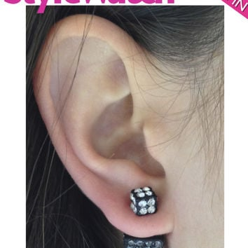 Double-Sided Cube Earrings (As seen in People Style Watch Magazine)