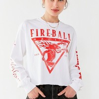 Fireball Long Sleeve Tee | Urban Outfitters