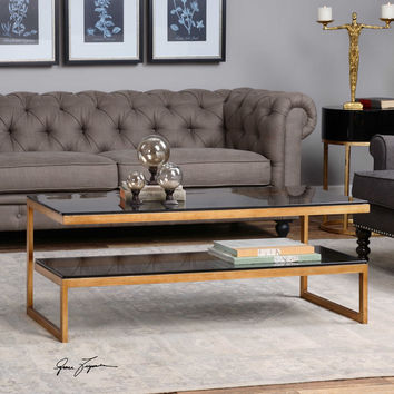 Uttermost Adeen Glass Coffee Table