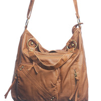 Triple Zip Oversized Bag | Shop Just Arrived at Wet Seal