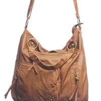 Triple Zip Oversized Bag | Shop Accessories at Wet Seal
