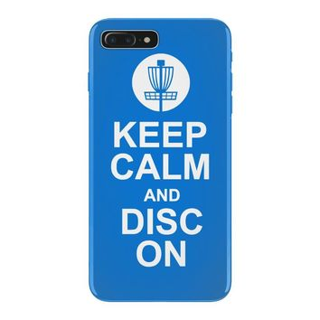 keep calm and disc golf on target frisbee basket iPhone 7 Plus Case