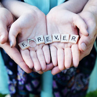 Forever  - Engagement Photo Props