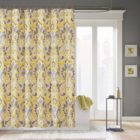 Madison Park Capris Polyester Shower Curtain
