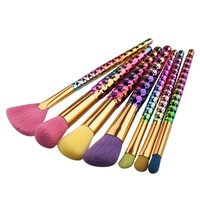 Honeycomb Makeup Brush Set
