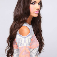 LONG LUXURIOUS CURL 1PC CLIP IN SYNTHETIC HAIR EXTENSION