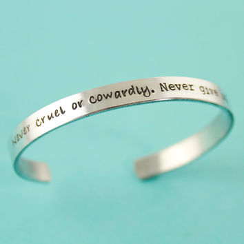 Doctor Who Bracelet - The Doctor's Promise - Day of The Doctor Cuff Bracelet