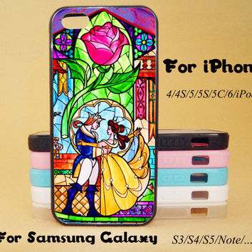 Beauty and the Beast,iphone 5 case,iPhone 5C Case,iPhone 5S Case,iPhone 4 Case, iPhone 4S Case,Galaxy Samsung S3, S4,S5