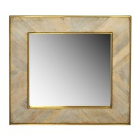 Justinian Square Mirror design by Selamat – BURKE DECOR