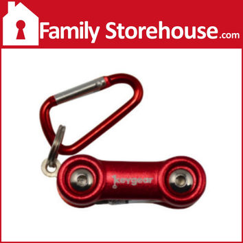 """Multi """"Cool"""" Tool Keychain Red"""