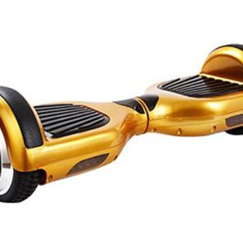 SanWay Smart Self Balancing Electric Scooter Balance 2 Wheels Unicycle Hoverboard, Golden