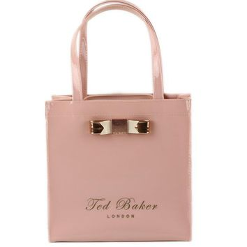 Ted Baker Women Shopping Leather Handbag Tote Satchel
