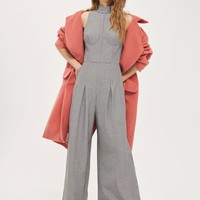 Dogtooth Checked Jumpsuit | Topshop