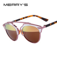 MERRY'S Women Cat Eye Polarized Sunglasses Brand Sun Glasses Classic UV400
