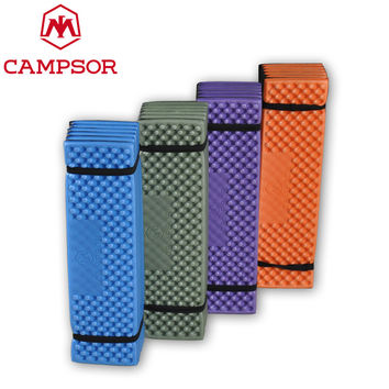 CAMPSOR Outdoor Camping Mat Tent Sleeping Pad Egg Crate Foam Manta Picnic Hiking Beach Mat