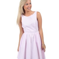 Lauren James Emerson Bow-Back Seersucker Dress | Dillards