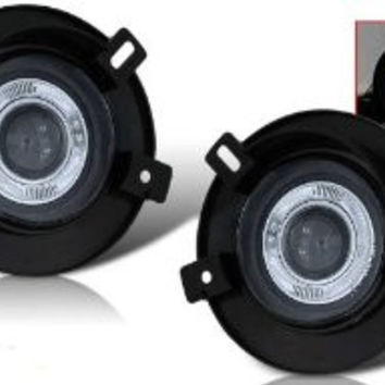 02-05 ford explorer halo projector fog light (clear) performance