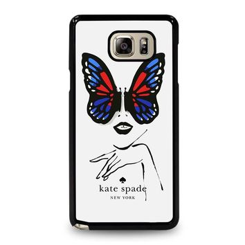 KATE SPADE BUTTERFLY Samsung Galaxy Note 5 Case Cover