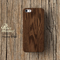 Unique wood pattern / not real wood, Unique Decoupage case, Samsung galaxy S4, iPhone 5/5S, iPhone 4/4S, iPhone 3Gs case.