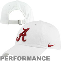 Nike Alabama Crimson Tide Dri-FIT 3D Tailback Adjustable Performance Hat - White