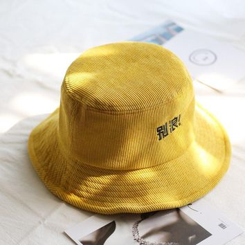 Bucket cap Women cotton Banana Hat Bob Caps Hip Hop cool outdoor sports Summer ladies Beach Sun Fishing Bucket Hats