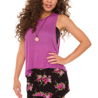 Anastasia Top - Purple