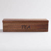 Acacia Wood Teabag Container - World Market