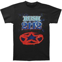 Rush Men's  2112 Redux Tee T-shirt Black