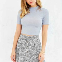 Silence + Noise Addison Mock-Neck Cropped