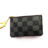 Louis Vuitton LV Clutch Bag Wristlet Women Men Key Pouch