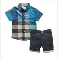 Boys Summer 2 PC Shorts + Shirt