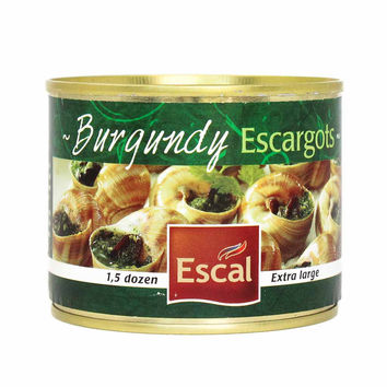 Escal Burgundy Escargots Snails, 1.5 Dozen (4.4 oz)
