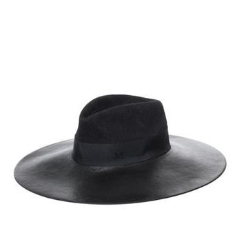 Fara leather brim hat | Maison Michel | MATCHESFASHION.COM