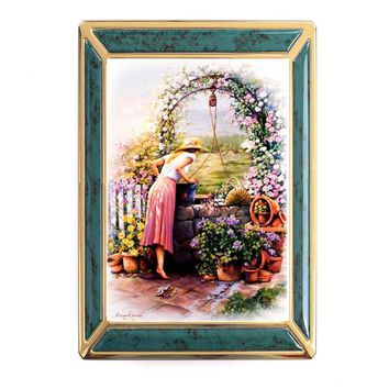 2017 needle, DIY DMC unprinted 14CT cross stitch kits, cross stitch beautiful garden home decoration new