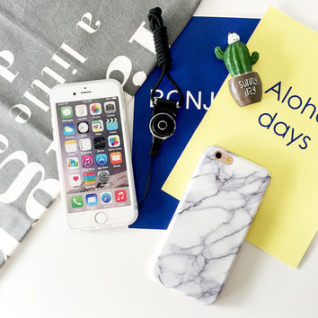 Hot Deal Iphone 6/6s Stylish On Sale Cute Iphone Korean Innovative Matte Soft Apple Phone Case [8153018247]