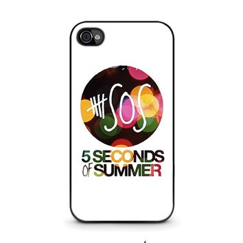 5 SECONDS OF SUMMER 5 5SOS iPhone 4 / 4S Case Cover