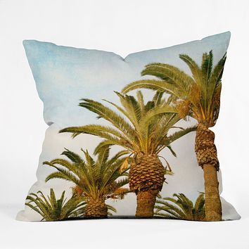 Catherine McDonald Some Place Sunny And Warm Throw Pillow