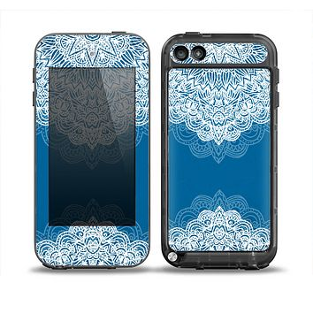 The Intricate Blue & White Snowflake Name Script copy Skin for the iPod Touch 5th Generation frē LifeProof Case