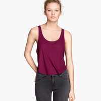 H&M Ribbed Tank Top $9.95