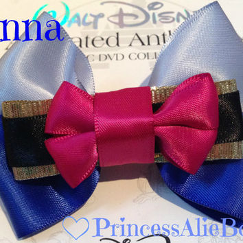 Disney's Frozen Anna Hair Bow