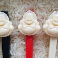 Chopsticks ~ Laughing Budda Chopsticks ~ Custom Chopsticks ~ Zen Gifts ~ Birthday Gifts ~ Party Favors - Chop Sticks