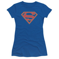 Supergirl TV Show Logo Juniors T-Shirt/Tank Top