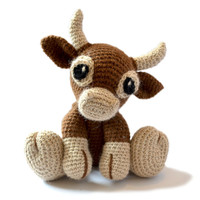 Cow Amigurumi Crochet Pattern PDF Instant Download - Clementine