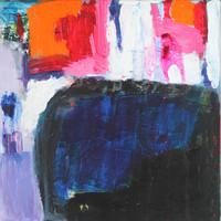 the deep - original abstract painting