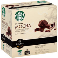 Walmart: Starbucks Mocha Ground Coffee K-Cups, .35 oz, 16 count