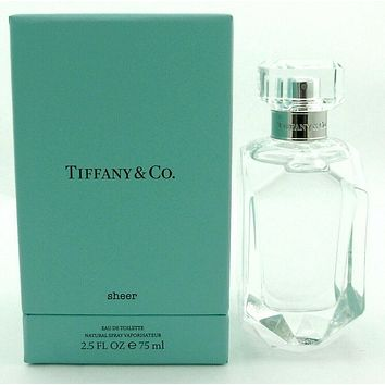 Tiffany SHEER Perfume by Tiffany & Co 2.5 oz. Eau de Toilette Spray