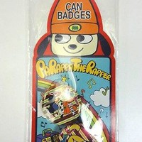 PARAPPA THE RAPPER CAN BADGES SONY JAPAN